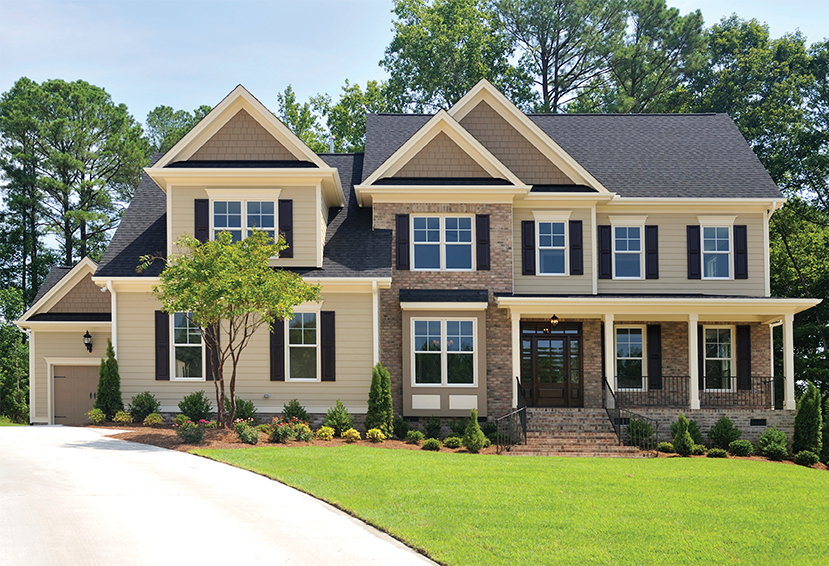 Fairfield style crest - Country style exterior house colors ...