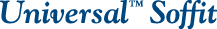 Universal Soffit Logo