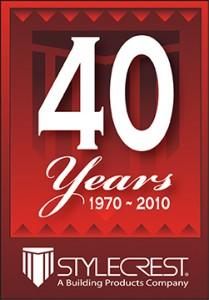 40 Year Logo CLR