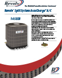 Split System AccuCharge AC 14 SEER