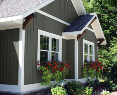 This Year Style Crest Is Adding Five Trending Darker Colors To Its Palette Of Increasingly Por Vertical Board Batten Siding