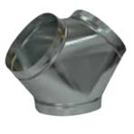 HVAC Metal Wye 12″ x 10″ x 10″