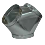 HVAC Metal Wye 14″ x 14″ x 14″