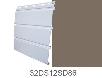 Duraspan T4 Sd Solid Siding Nutmeg Style Crest