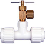 Plumbing Ice Maker Tee with valve