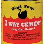 Plumbing 3-Way All Purpose Cement 1 Quart