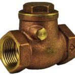 Plumbing Check Valve 3/4″ Double Brass Swing