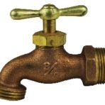 Plumbing Hose Bibb Valve Brass 3/4″ STD Pattern, Tee Handle