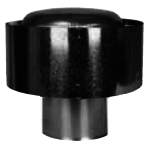 HVAC Draft Cap for Single Wall Pipe Application 4″