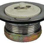 Plumbing Metal Drain and Plug Stainless Steel, 2″