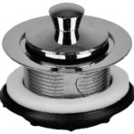 Plumbing Bathtub Drain 1-1/2″ Popstop – Chrome Plated Plastic Features
