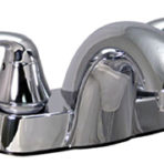 Phoenix 4″ Center Lavatory Brass Under-body