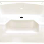 Plumbing Heavy Duty Garden ABS Tub 40 x 54, Almond, with Step