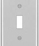 Electrical Switch Coverplate Single Pole Toggle White
