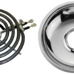 Appliances Range Drip Pan and Ring 8″