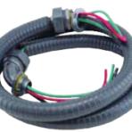 HVAC Liquid Tight Conduit Kit 1/2″ x 4′ #10 Gauge Wire 6 per Package