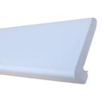 Plumbing Tub Molding White, 1-3/8″ x 7′