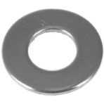 Tools and Fasteners Flat Washer 3/8″ USS, Zinc, 50/Box
