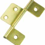 Doors and Windows Non Mortise Hinge Brass