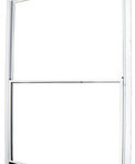 Doors and Windows Kinro Series 5700 Horizontal Slide Storm Window 46″ x 40″