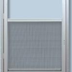 Doors and Windows Storm Door Left Hand 36″ x 80″ White Conventional