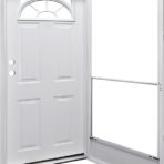 Doors and Windows Kinro Series 7660 Right Hand 34″ x 80″ with Sunburst Lite