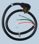 Appliances Power Cord 30 Amp Dryer 4 Prong 4 Wire 4′