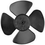 Appliances Range Hood Fan Blade Single Speed for Square Outlet