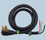 Electrical Range Cord 50 Amp 4′ 4 Prong 4 Wire