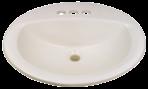 Plumbing Lavatory Sink 17 x 20 China Ivory