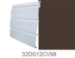The Carrington Collection T4 CV Center Vent Siding Musket Brown
