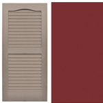 Traditional Louvered Shutters